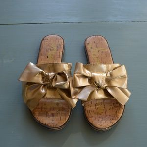 Sam Edelman Gold Sandals